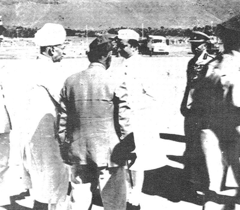P V G Raju Garu with S Radhakrishna